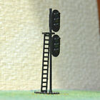 2 pcs HO OO Scale LEDs Made dual heads Railway Signals 3 aspects over 3 aspects