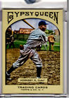 2011 Gypsy Queen Topps Vault Blank Back 1 1 Rogers Hornsby