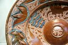 SPANISH Hispano Moresque Copper Lustre Ceramic BOWL Charger 16th Century Spain