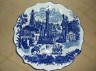 Victoria Ware Ironstone Large Plate/Platter Spanish Village - 12 inches in Diam.