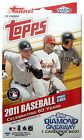2011 Topps Update Series Hanger Box - Blue Bordered Parallels 72 cards Trout RCs