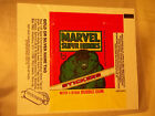 VINTAGE TOPPS Marvel 1976 COMIC BOOK HEROES WAX PACK WRAPPER non sports cards
