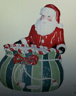 Christopher Radko Splendid Santa Candy Bowl~Treat, Snack, Cookie Jar~7