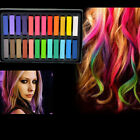 12 24 Color Non toxic Temporary Salon Kit Pastel Square Hair Chalk With Box Hot
