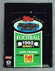 1992 Topps Stadium Club Series 1 Football Cards Box Sealed Packs FREE SHIPPING!