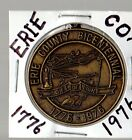 Erie County Ohio Bicentennial 1776-1976 coin pendant necklace key chain medal
