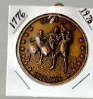 United States Bicentennial 1776-1976 coin pendant necklace key chain medal