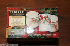 CORELLE COORDINATES STONEWARE CALLAWAY HOLIDAY SALT AND PEPPER SET IN BOX 1999