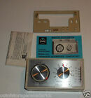 Vintage White Rodgers Automatic Comfort Set Thermostat With Instructions