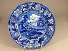 Antique Staffordshire Enoch Wood&Sons Dalguise Perthshire plate19c