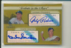 DUKE SNIDER JOHNNY PODRES 2011 Topps Tribute to the Stars AUTO GOLD 25 DODGERS