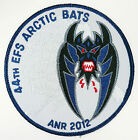 USAF 44th EFS  EXPEDITIONARY FIGHTER SQUADRON ARCTIC BATS ANR 2012 PATCH