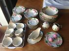 Vintage USA Franciscan Desert Rose Earthenware 50 pc. Lot Set - FREE SHIPPING!