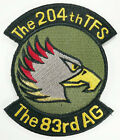 JASDF JAPAN AIR FORCE 204th TFS TACTICAL FIGHTER SQUADRON PATCH