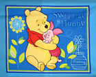 Disney Winnie The Pooh Sweet As Hunny Piglet Cotton Fabric Wall Hanging PANEL