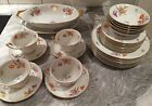 Lakewood by Bavaria 30 Pieces Lunch or Dessert Set Plates, Servers, Cups/Saucers