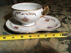 S A PORCELAINE LIMOGES FRANCE CUP AND SAUCER ( snack Plate )