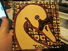 SIGNED WOOLLISCROFT IRONSTONE TILE- STYLIZED DUCK - MADE IN ENGLAND