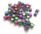 DIY mix black 50pcs cute heart Beads Charms For Loom Rubber bracelet Bands#137