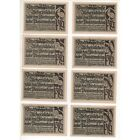 NOTGELD - ASCHERSLEBEN - 10 different notes - 2 series - 1921 (A072) [A072 DEUTC