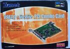 Zonet USB 20 FireWire PCI Combo Card Model No ZUC2400