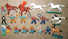 Vintage 1960's Britains Herald and Timpo Cowboys, Gunfighters, Indians