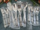 Oneida Northland Stainless Korea MUSETTE 10pcs 4 Teaspoons 6 Serving Pieces Mint