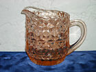 Holiday Buttons and Bows Milk Pitcher Pink
