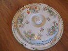 Vintage Sectioned Serving Dish with Lid Floral Made in Japan