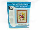 Vintage Erica Wilson Red Bird Hiawatha Crewel Embroidery Kit 1969 Sealed 6911/2