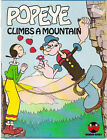 Popeye Climbs a Mountain Children's Book - Free US shipping!