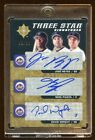 2005 ULTIMATE TRIPLE AUTO #D 03 20 METS MIKE PIAZZA - DAVID WRIGHT - JOSE REYES