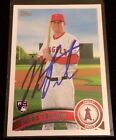 MARK TRUMBO 2011 TOPPS Rookie RC Autographed Signed AUTO Baseball Card 57 ANGELS