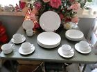 23 PCS. SIMPLE & ELEGANT GIBSON EVERYDAY CHINA DINNERWARE DISHES