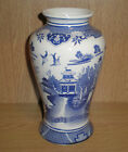 Fine Quality Art Pottery Stamped Porcelain Japanese Blue and White Vase