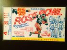 Michigan Wolverines 1977 Rose Bowl laminated ticket vs USC Trojans