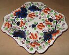 MID 19TH CENTURY GAUDY WELSH PINK LUSTER GRAPE PATTERN DESSERT COOKIE TRAY