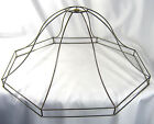 Lamp Shade Wire Frame Victorian for Floor Lamps Large Bell With Gallery Unique