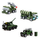 249 pcs Field army military tank missile car minfigure toy Brick figures in bags