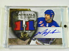 08 09 THE CUP MARK MESSIER # 5 11 HONORABLE NUMBERS AUTO NY RANGERS THE CAPTAIN