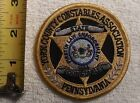 YORK COUNTY PENNSYLVANIA CONSTABLE PATCH (SHERIFF, STATE POLICE, EMS, FIRE)