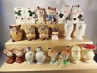 Vintage Japan Salt & Pepper Shakers LOT of 20 pieces Marked & Unmarked