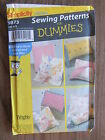 Simplicity 9873 Throw Pillows Pattern Neck Roll Square Rectangle UNCUT