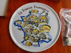 VINTAGE FRANCE FROMAGERE CENTER HANDLE CHEESE PLATE DISH BY TRADITION CNP - IOB