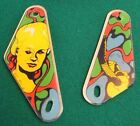 Williams ALIEN POKER PINBALL SLINGSHOT PLASTICS ~ NEW!