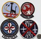 US AIR FORCE SQUADRON 1 PATCH 80th FIGHTER WING FLIGHT TEST USAF VIETNAM WAR