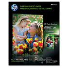 HP Everyday Glossy Photo Inkjet Paper 85x11 50 sheets Q8723A