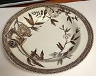 Vintage Wedgwood Transferware Soup Bowl Brown & White LOUISE Registration Mark