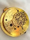 ***LONDON*** High Grade QUALITY Verge Watch Movement. (WORKING).