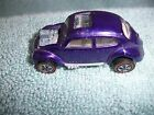Mattel Redline Hot Wheels Purple Custom Volkswagen w/ white USA 1967 Excellent
